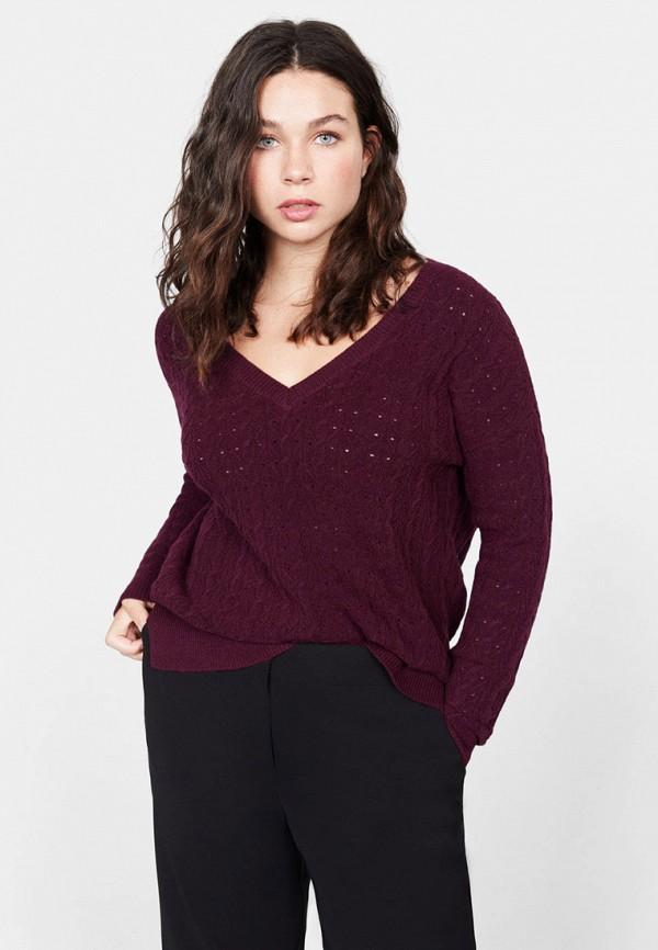 цена Пуловер Violeta by Mango Violeta by Mango VI005EWHHEZ1 онлайн в 2017 году