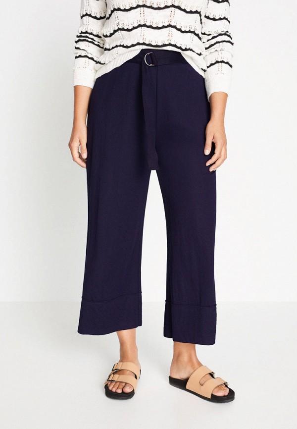 женские повседневные брюки violeta by mango, синие