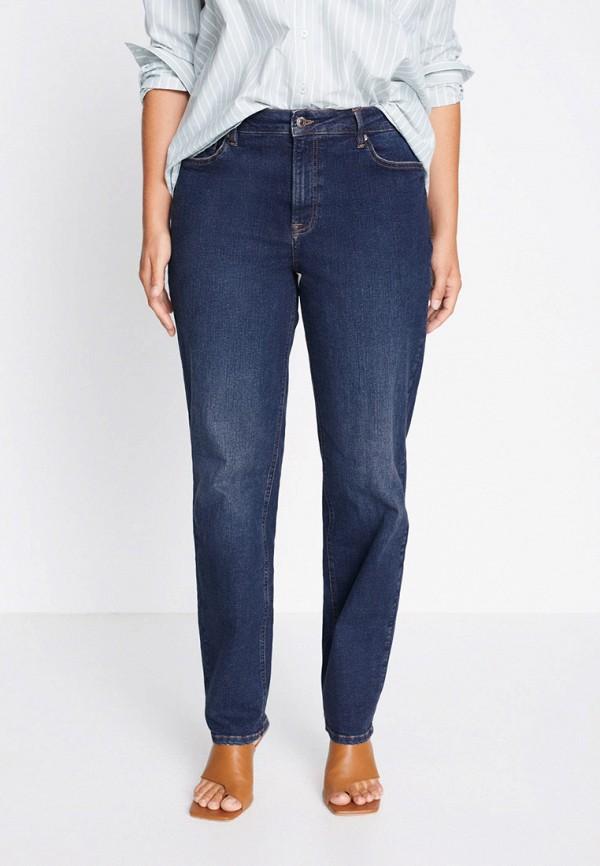 женские джинсы скинни violeta by mango, синие