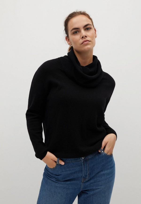 женский свитер violeta by mango, черный