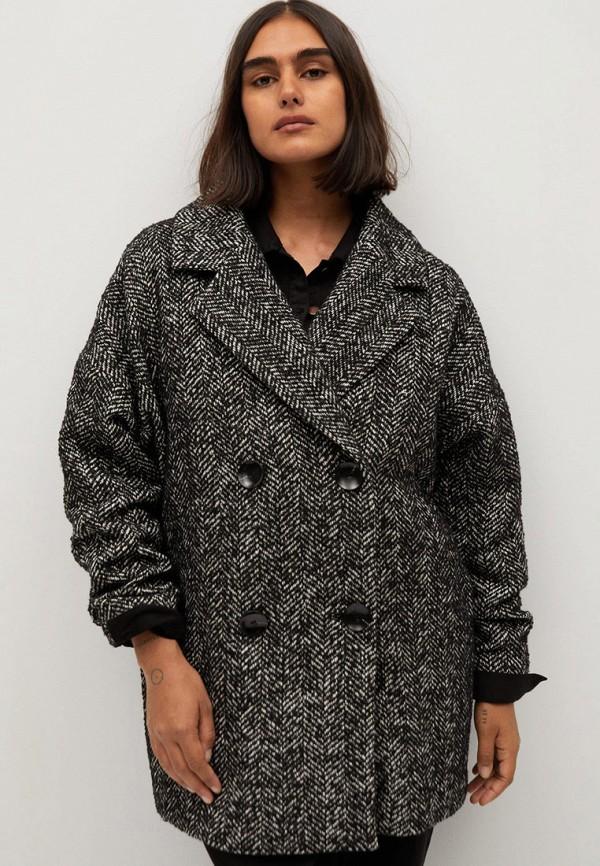женское пальто violeta by mango