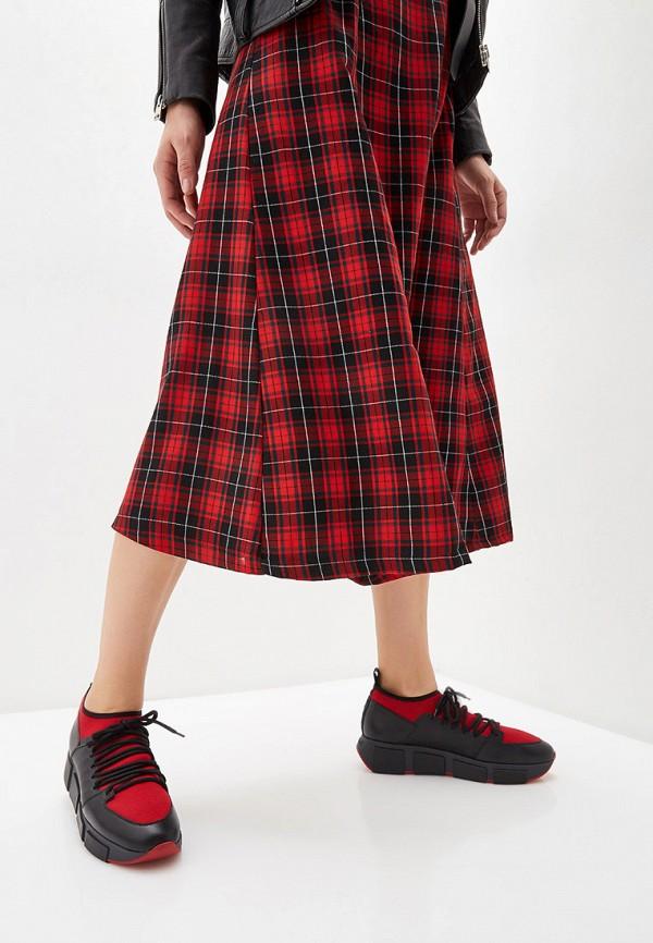 Фото 6 - Женские кроссовки Vic Matie красного цвета