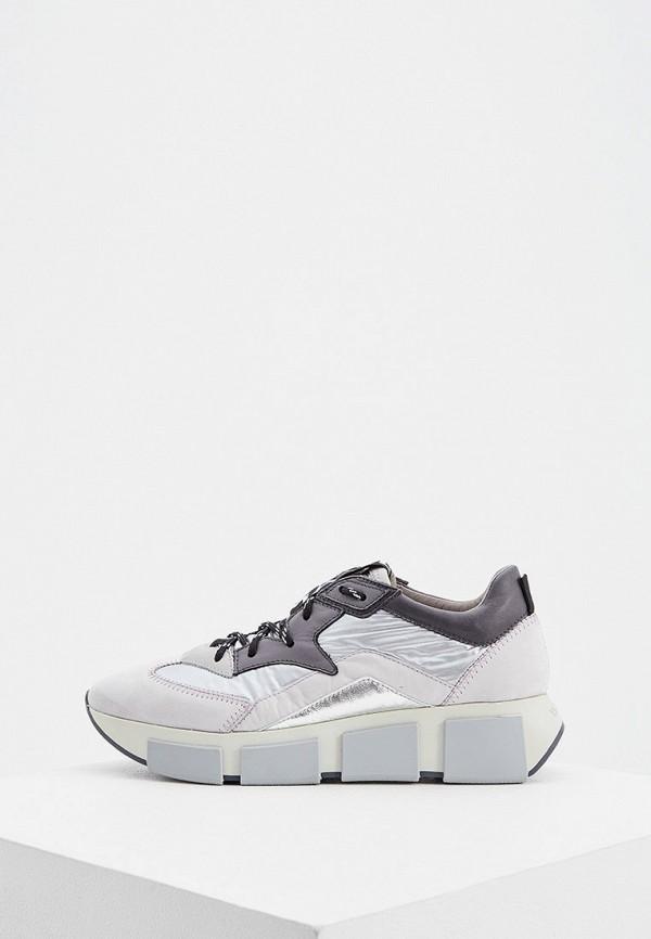 женские кроссовки vic matie, серебряные
