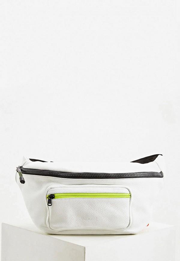 мужская поясные сумка vic matie, белая