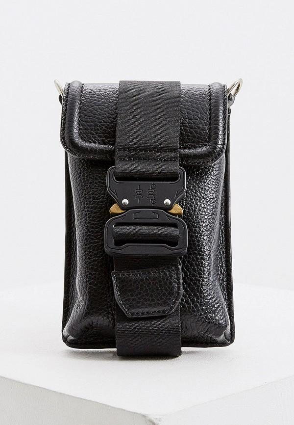 женская сумка через плечо vic matie, черная