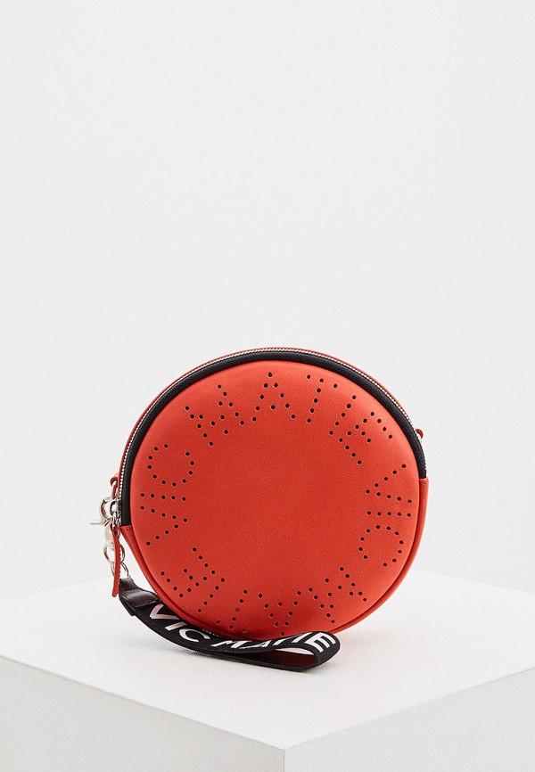 женская сумка через плечо vic matie, красная