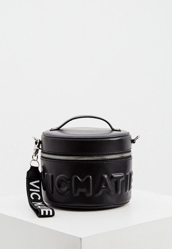 женская сумка vic matie, черная