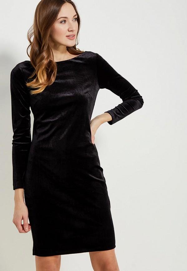 Фото 4 - женское платье Vittoria Vicci черного цвета