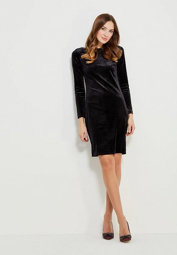 Фото 5 - женское платье Vittoria Vicci черного цвета