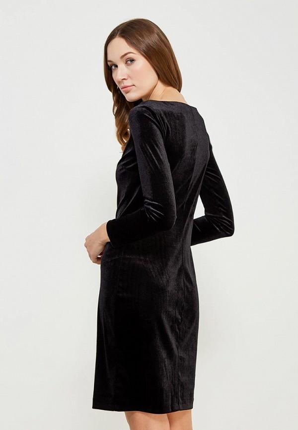 Фото 6 - женское платье Vittoria Vicci черного цвета