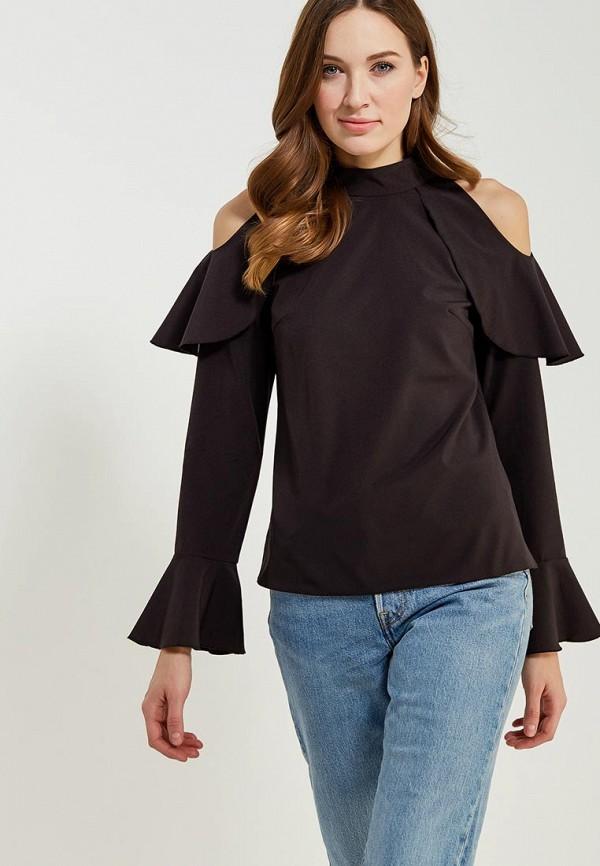 Купить Блуза Vittoria Vicci, VI049EWADDZ1, черный, Весна-лето 2018