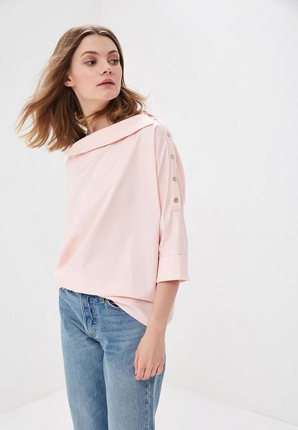 Купить Блуза Vittoria Vicci, vi049ewbfvo4, розовый, Весна-лето 2018