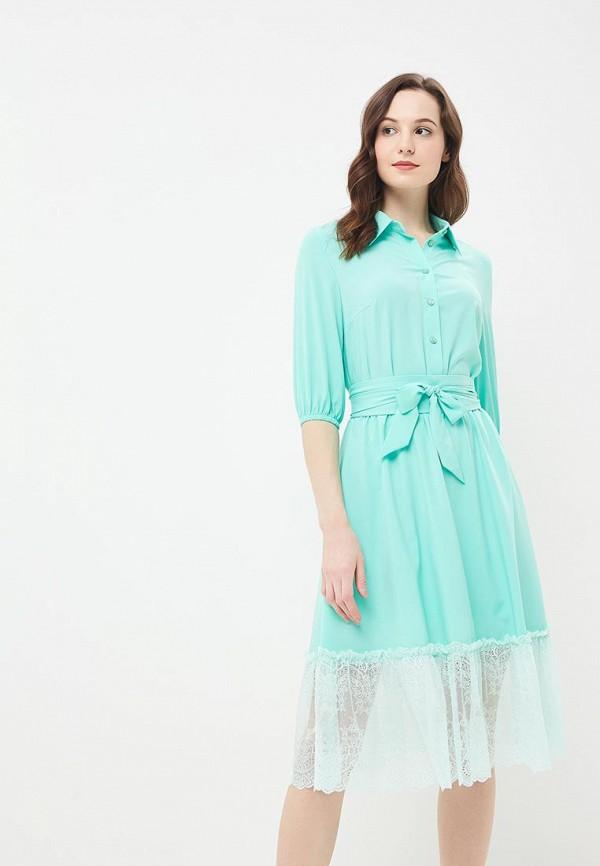 Платье Vittoria Vicci, VI049EWBJFD4, зеленый, Весна-лето 2018  - купить со скидкой