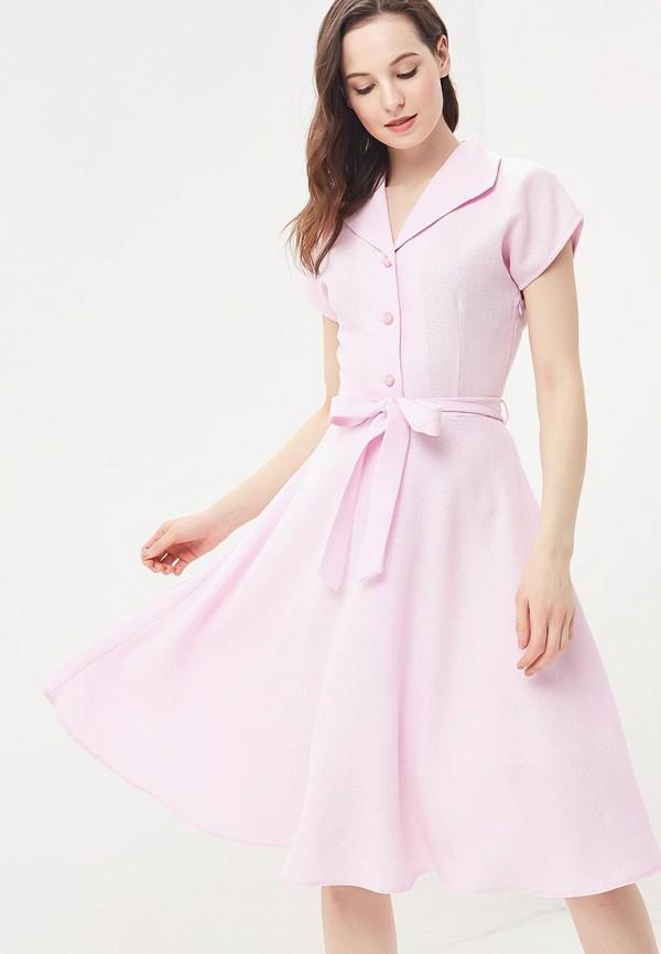 Купить Платье Vittoria Vicci, vi049ewbjfd5, розовый, Весна-лето 2018