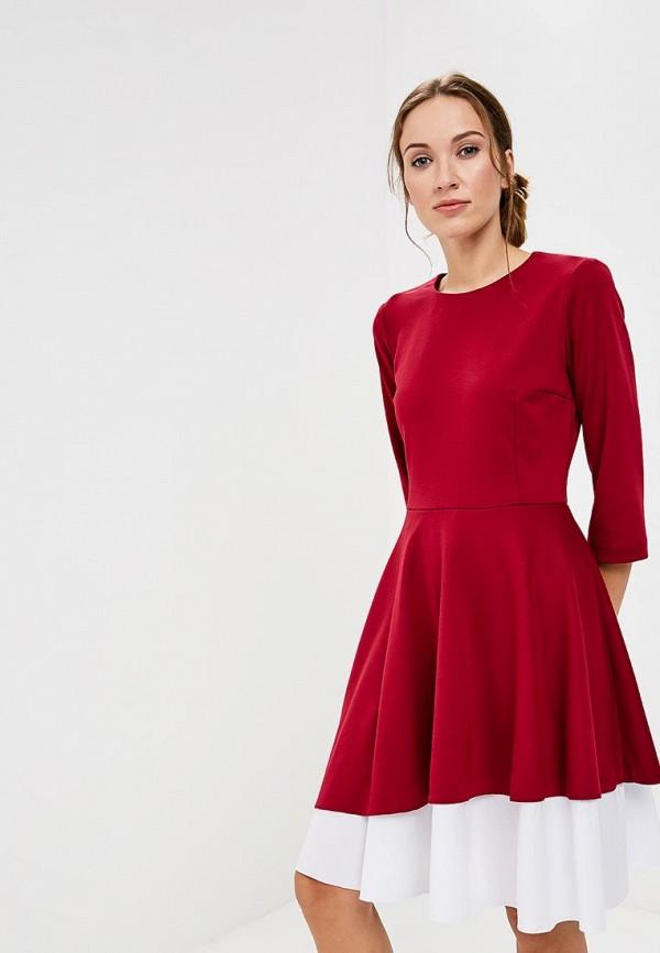 Платье Vittoria Vicci, VI049EWCENR4, бордовый, Осень-зима 2018/2019  - купить со скидкой