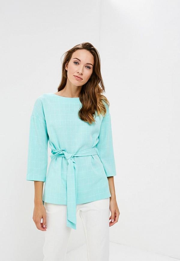 Купить Блуза Vittoria Vicci, VI049EWCENR7, бирюзовый, Осень-зима 2018/2019