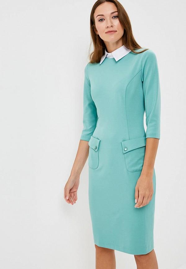 Купить Платье Vittoria Vicci, VI049EWCENS1, бирюзовый, Осень-зима 2018/2019