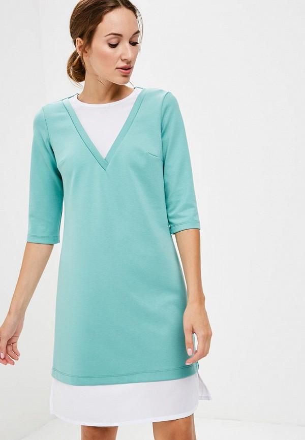 Купить Платье Vittoria Vicci, vi049ewcens8, бирюзовый, Осень-зима 2018/2019
