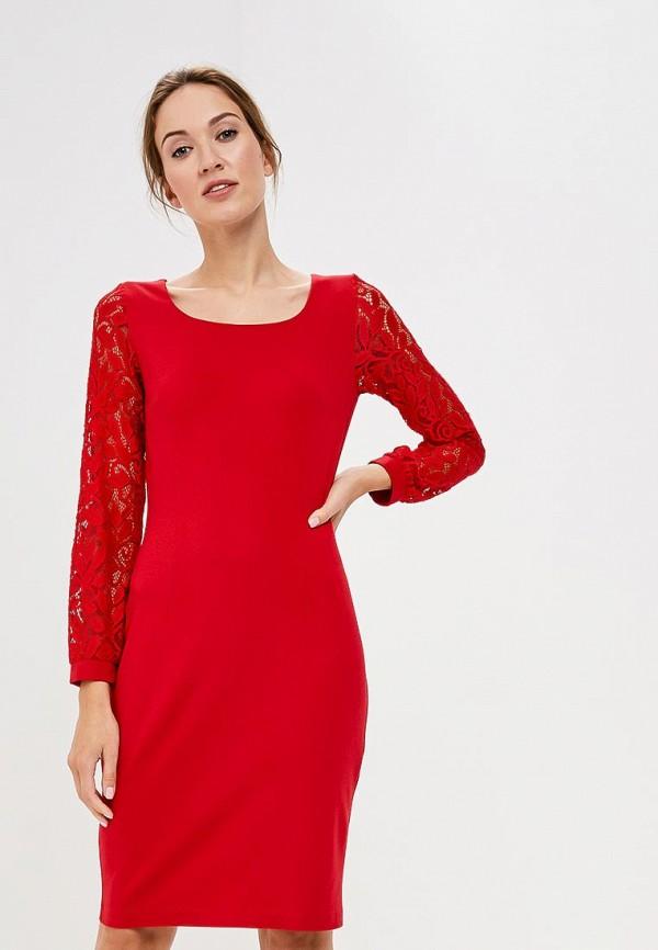 Купить Платье Vittoria Vicci, VI049EWCENT2, красный, Осень-зима 2018/2019