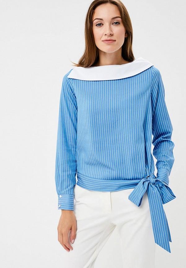 Купить Блуза Vittoria Vicci, VI049EWCENT9, синий, Осень-зима 2018/2019
