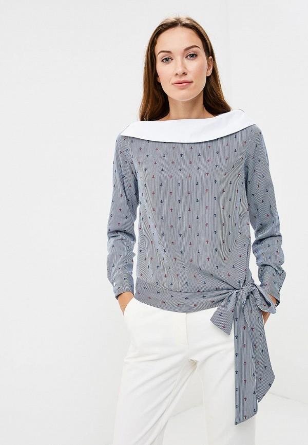 Купить Блуза Vittoria Vicci, VI049EWCENU0, синий, Осень-зима 2018/2019