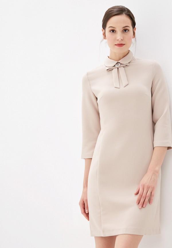 Фото - Женское платье Vittoria Vicci бежевого цвета