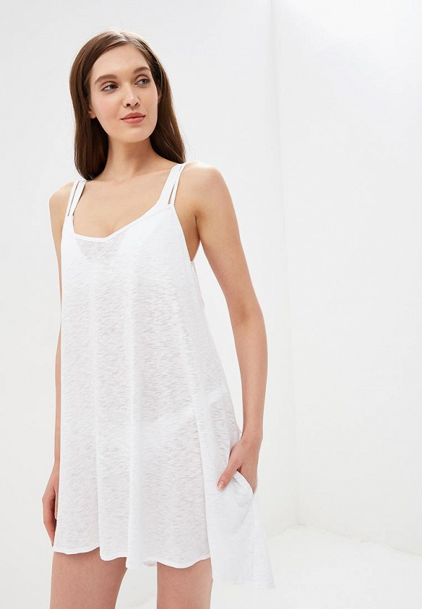 Купить Платье пляжное Vitamin A белого цвета