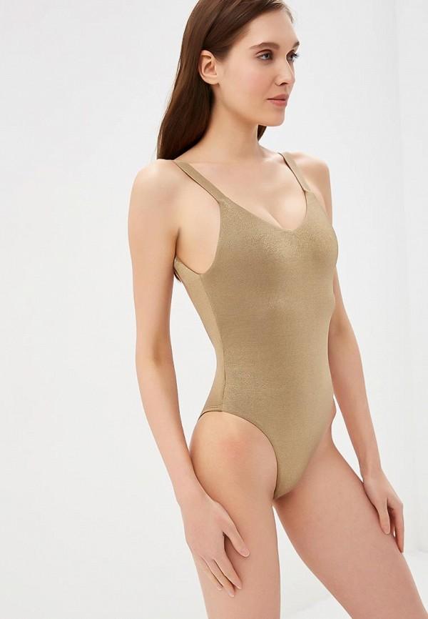 женский купальник vitamin a, золотой