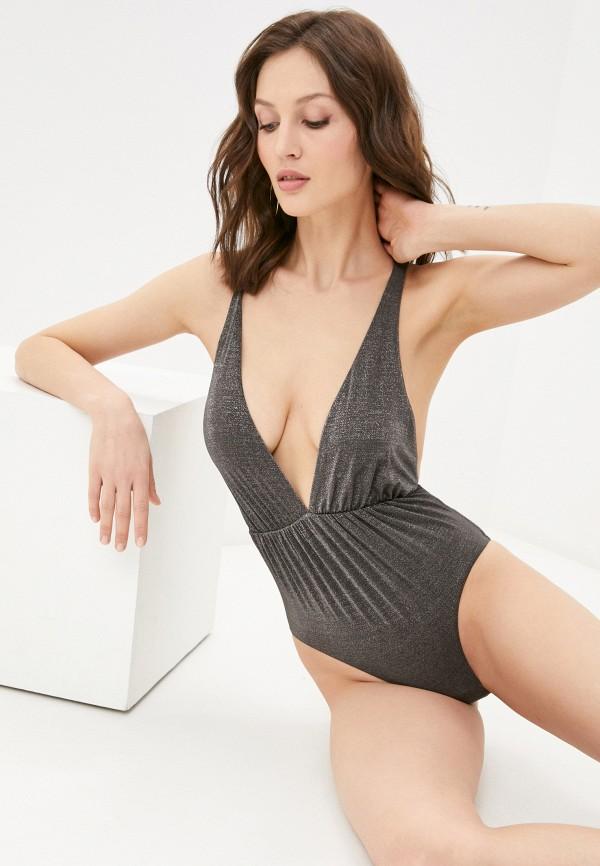 женский купальник vitamin a, серый