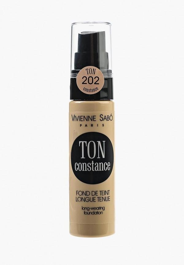 Тональное средство Vivienne Sabo Vivienne Sabo VI054LWSEQ32 vivienne sabo round latex makeup sponges set cпонж круглый для макияжа латексный 2 шт