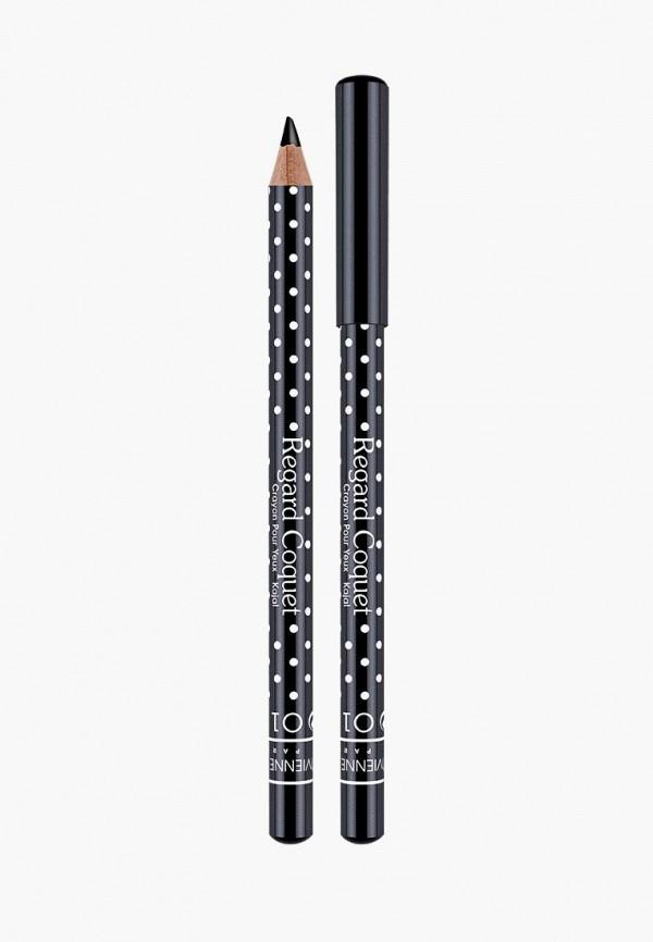 карандаш для глаз vivienne sabo, черный