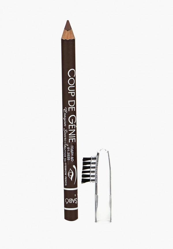 карандаш для бровей vivienne sabo, коричневый