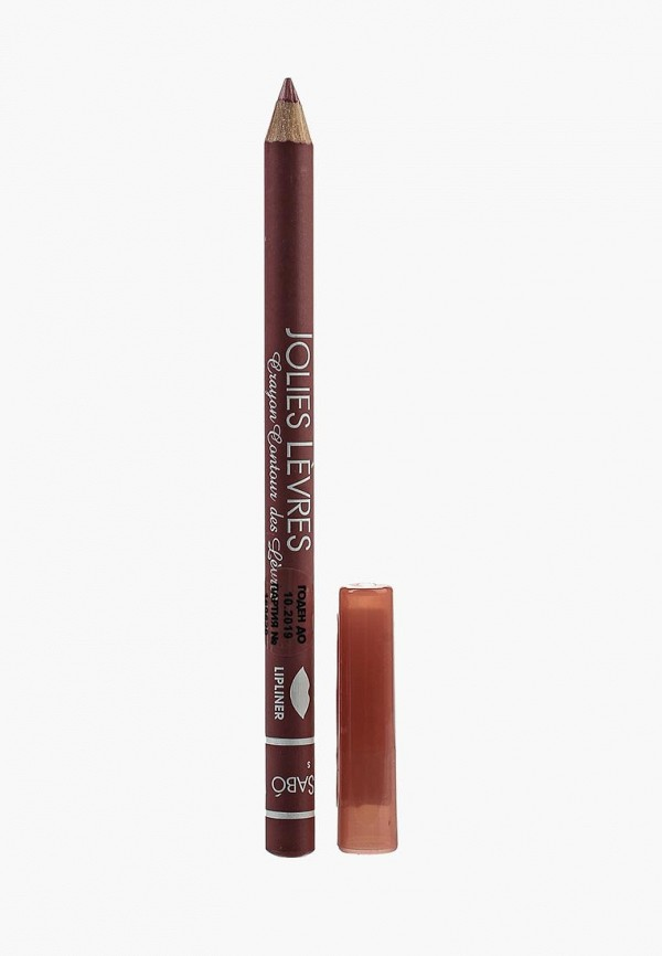 карандаш для губ vivienne sabo, бордовый
