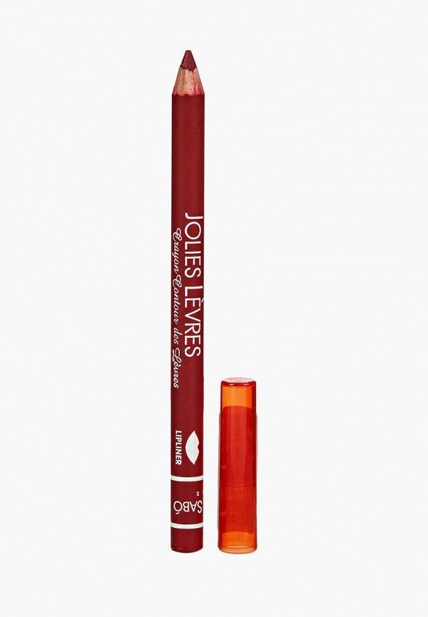 карандаш для губ vivienne sabo, красный
