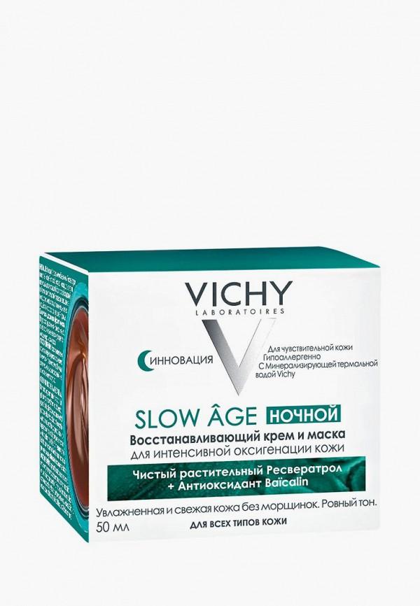 Купить Крем для лица Vichy, SLOW AGE Восстанавливающий для интенсивной оксигенации кожи, VI055LWBEXW1, прозрачный, Осень-зима 2018/2019