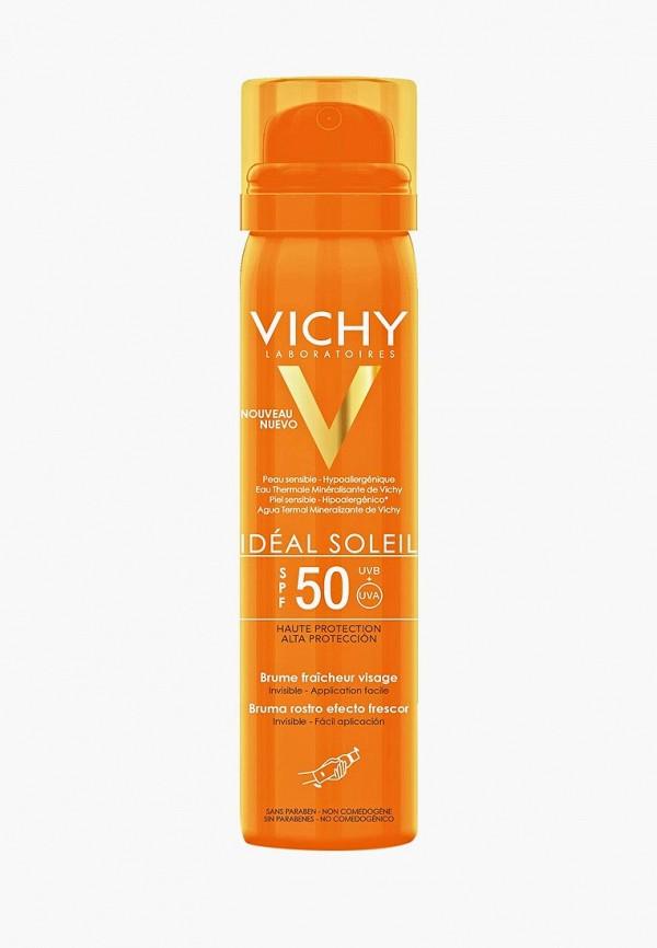женская защита от солнца vichy