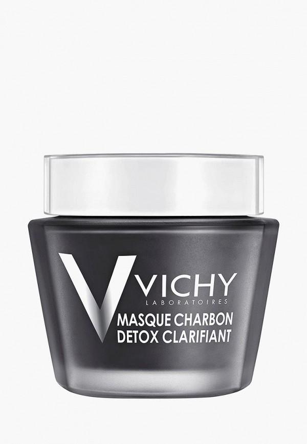Купить Маска для лица Vichy, Mineral Masks с древесным углем, 75 мл + шпатель, vi055lwffkv6, прозрачный, Весна-лето 2019