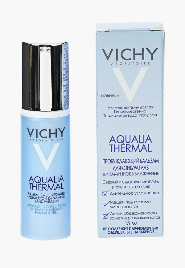 Купить Крем для кожи вокруг глаз Vichy, Пробуждающий Aqualia Thermal против «мешков» и кругов под глазами Для всех типов кожи 15 мл, vi055lwtxp72, прозрачный, Весна-лето 2019