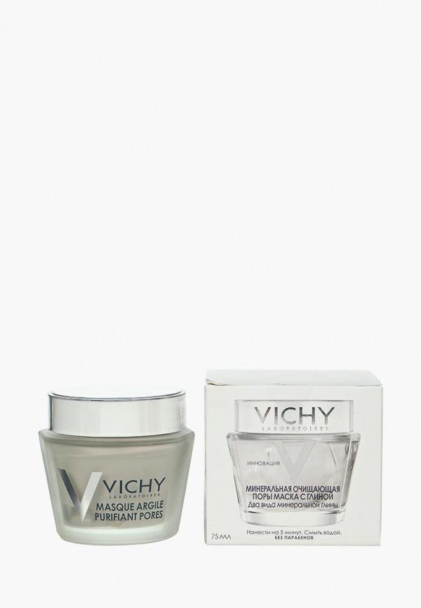 Купить Маска для лица Vichy, Минеральная очищающая поры с глиной 75 мл, vi055lwtxp93, Осень-зима 2018/2019