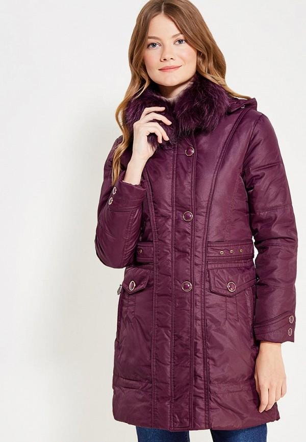 Купить Куртка утепленная Vitario, vi056ewxfa63, фиолетовый, Осень-зима 2017/2018