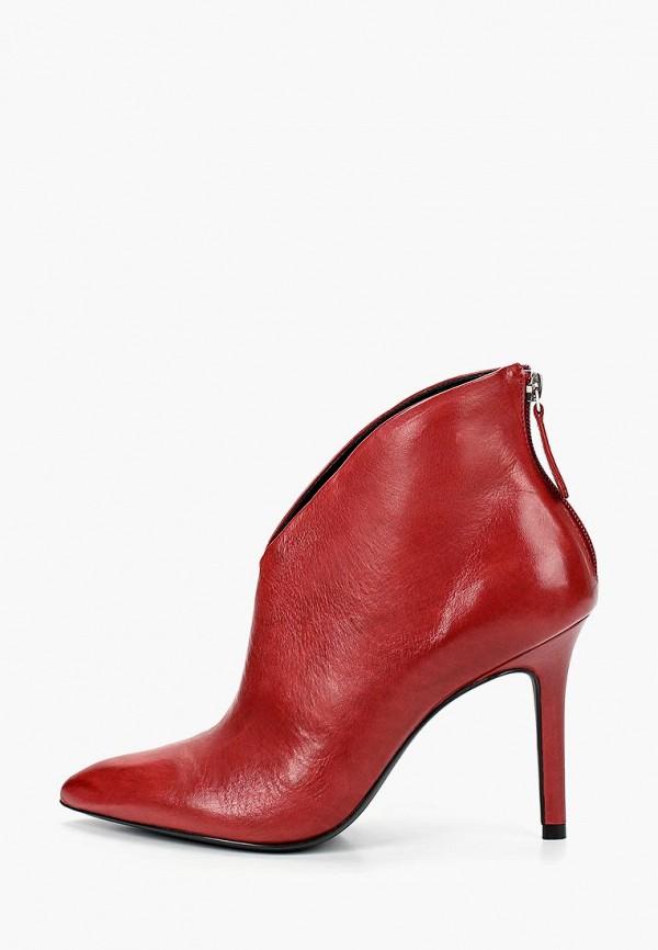 женские ботильоны vicenza, красные