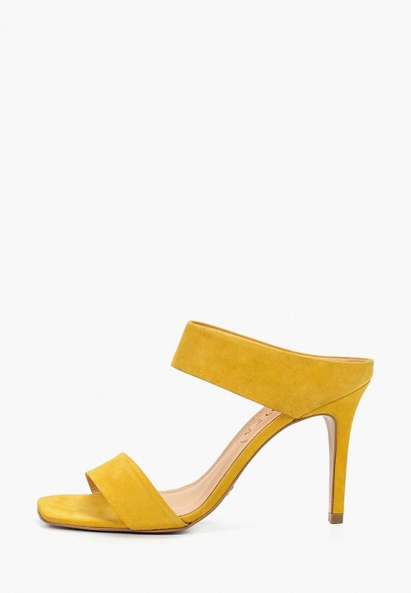 женское сабо vicenza, желтое