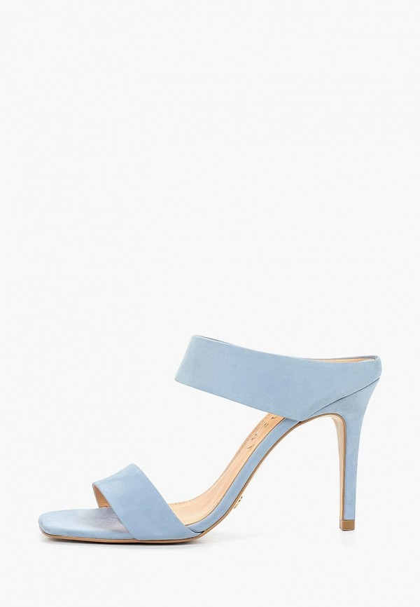 женское сабо vicenza, голубое
