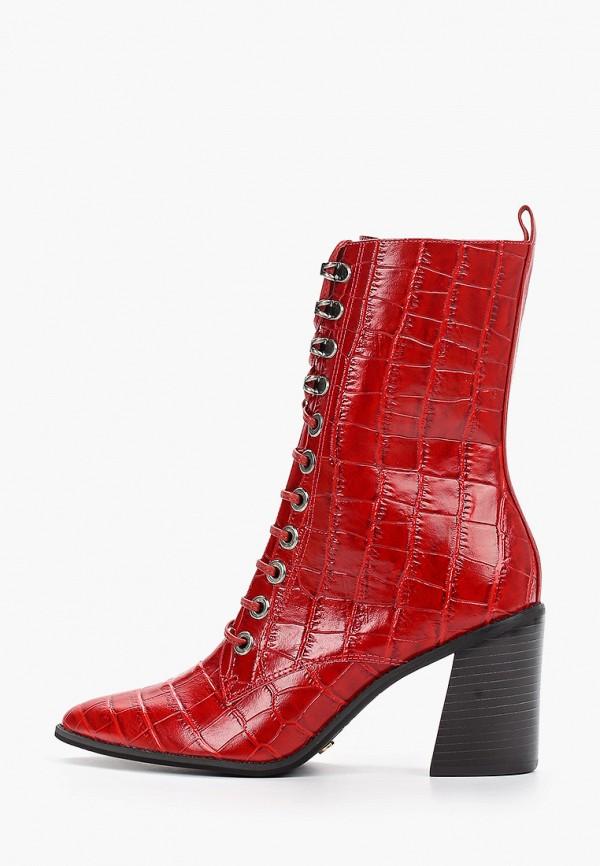 женские полусапожки vicenza, красные