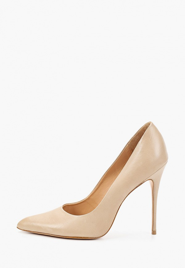 женские туфли-лодочки vicenza, бежевые