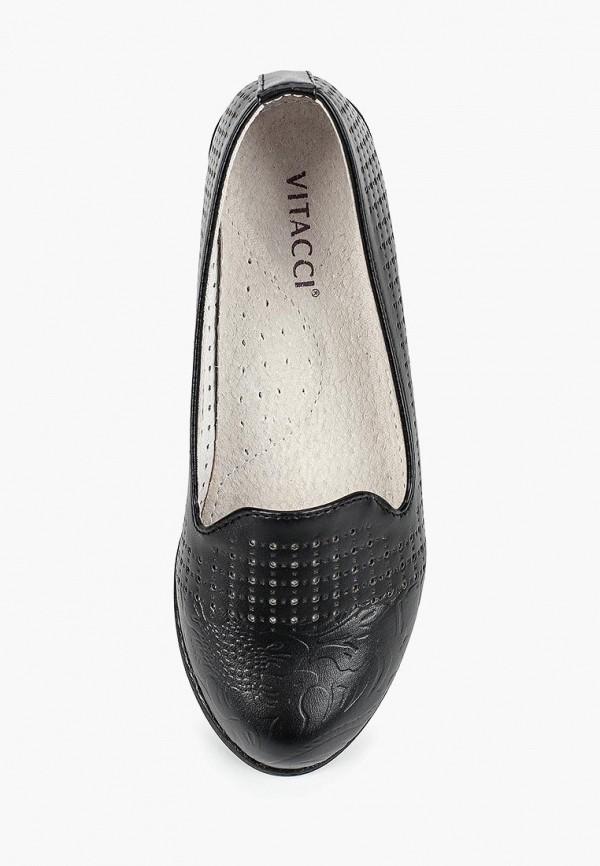 Фото 4 - Туфли Vitacci черного цвета