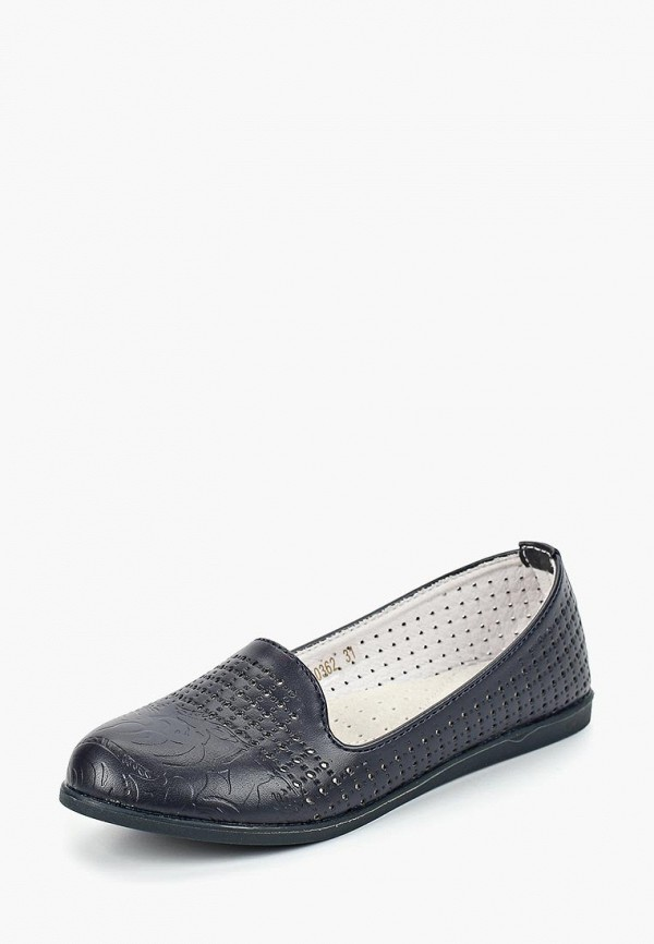 туфли vitacci для девочки, синие