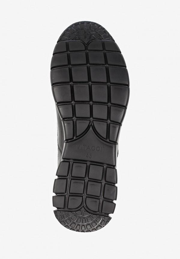 Фото 5 - мужские кроссовки Vitacci черного цвета