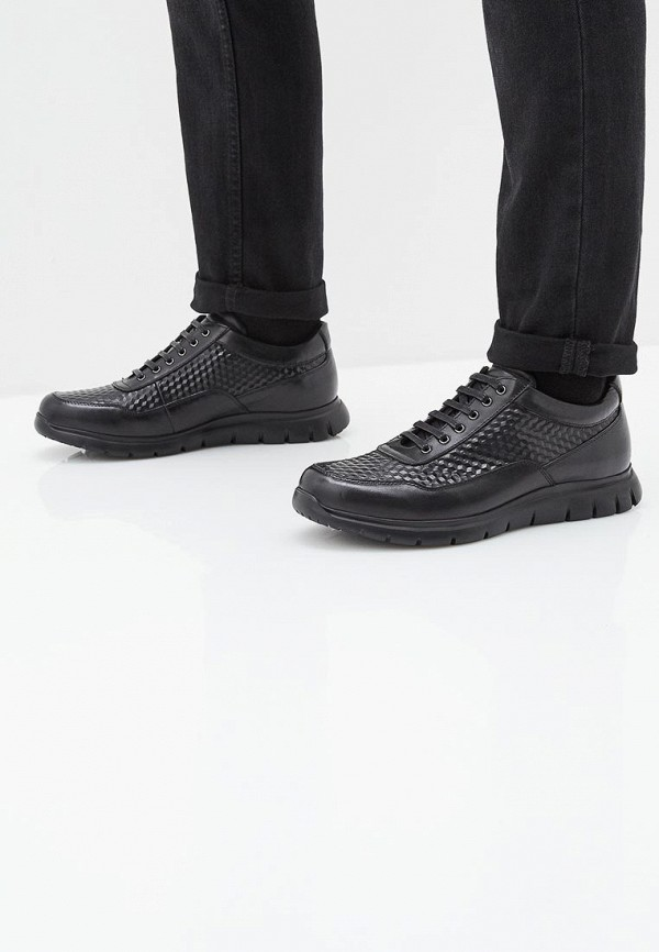 Фото 6 - мужские кроссовки Vitacci черного цвета