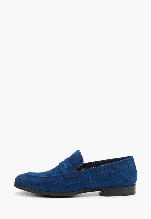 мужские лоферы vitacci, синие